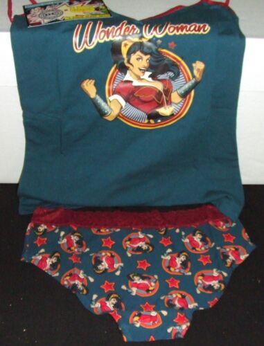 DC BOMBSHELLS GOLDEN AGE WONDER WOMAN UNDERGIRL CAMISOLE /& PANTY SET LARGE NEW
