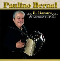 Paulino Bernal - El Maestro Del Acordeon Y Sus Polkas [new Cd] on Sale
