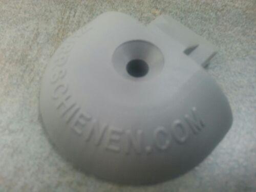 runde Form grau 10x Endkappe Endstück für Airlineschiene Zurrschiene