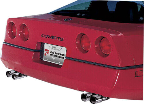 C4 Corvette 1985-1991 ZR1 Style Exhaust Tips