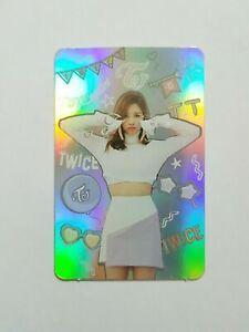K-POP-TWICE-Mini-Album-034-TWOICEOASTER-LANE1-034-Official-MINA-Hollogram-Photocard