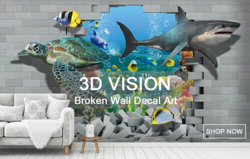 3D Animal Leopard 979RAIG Wallpaper Mural Self-adhesive Removable Sticker Amy