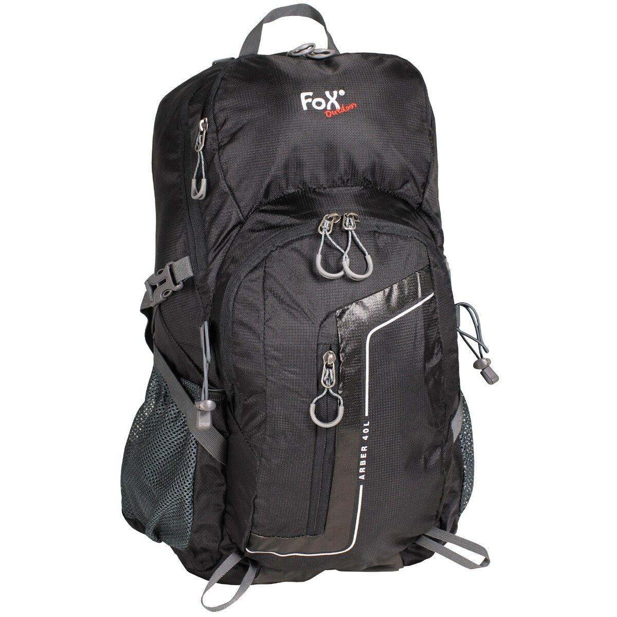 FOX Outdoor Zaino Borsa militare da Trekking leggero Backpack ARBER 40 30817A