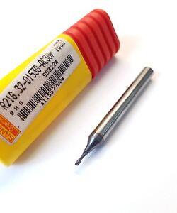 1.5mm Sandvik Carbure Monobloc Emplacement Perçage 2 Flt Fraisage Coupeur 405xmjp4-07223445-219007557