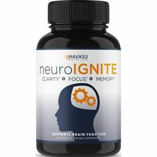 Buy Strength Brain Supplement For Focus Memory Clarity 30 Capsules