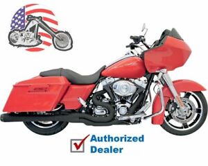 Details about Black Bassani Road Rage 2 into 1 II B4M Exhaust Pipe System  4