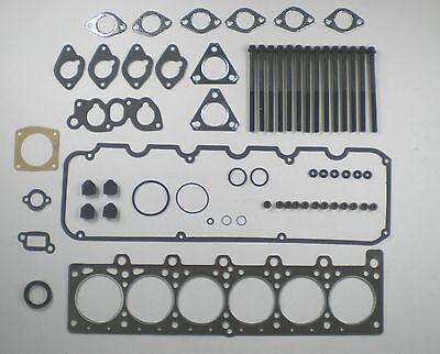 HEAD GASKET SET /& BOLTS BMW 320 320i 323i 520i 6 Cyl M20 75-82 VRS E12 E21 E28