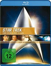 STAR TREK II: DER ZORN DES KHAN (William Shatner) Blu-ray Disc NEU+OVP
