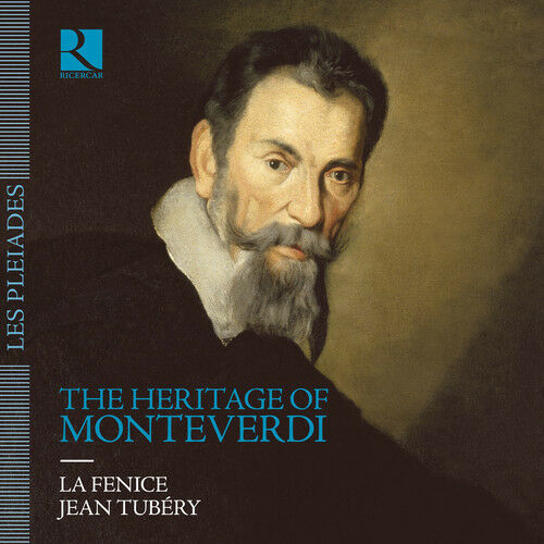 Heritage Of Monteverdi - 7 DISC SET - Jean La Fenice / Tubery (2017, CD NEUF)