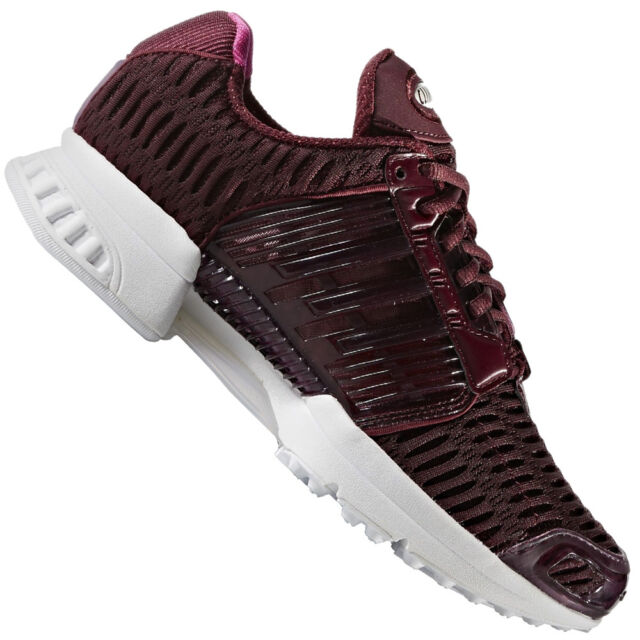 buy popular 2ddce 9dceb adidas Climacool 1 Women s Shoes Ladies Running Trainers Maroon Pink ...