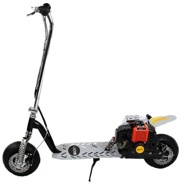 Mach1® Benzin-Scooter Powerboard 49cc Modell1 Mark-2 Motor Scooter Benzin 1024