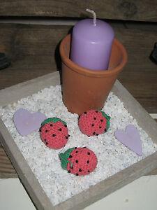 Dekoschale Holztablett Kerzen Tablett Tischdeko Fruhling Holz