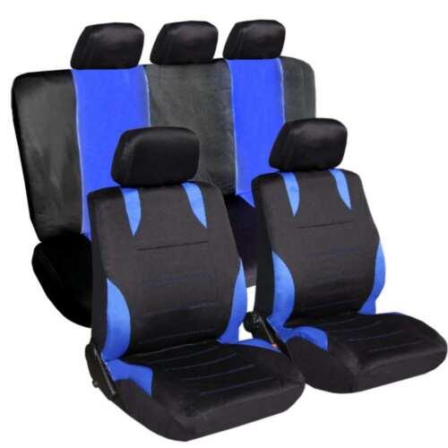 Housse de siège Déjà référence Sitzbezüge Housses de Protection Noir-Bleu