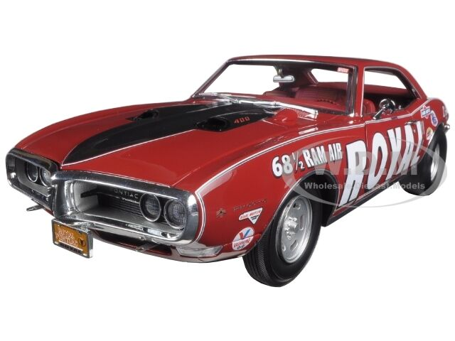 ACE WILSON'S 1968.5 ROYAL PONTIAC FIREBIRD DRAG CAR RED 1 18 ACME A1805202