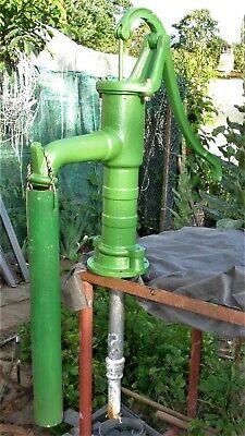 Guss Schwengelpumpe Gusseisen Handpumpe Handschwengelpumpe Gartenpumpe Pumpe