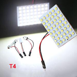 12-24-36-48-LED-3528-SMD-Car-Light-Panel-T10-Festoon-BA9S-Adapter-Gracious