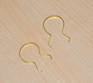 Reproduction flame thrower clips (pair) for vintage GI Joe marine figure