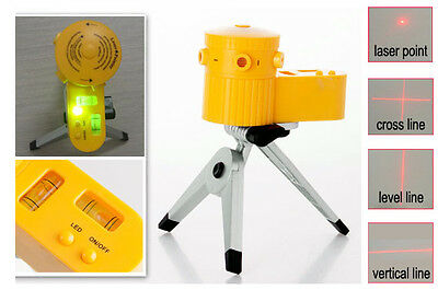 Multifunction Tripod Laser Level Vertical Horizontal Line Tool  POST FROM SYD