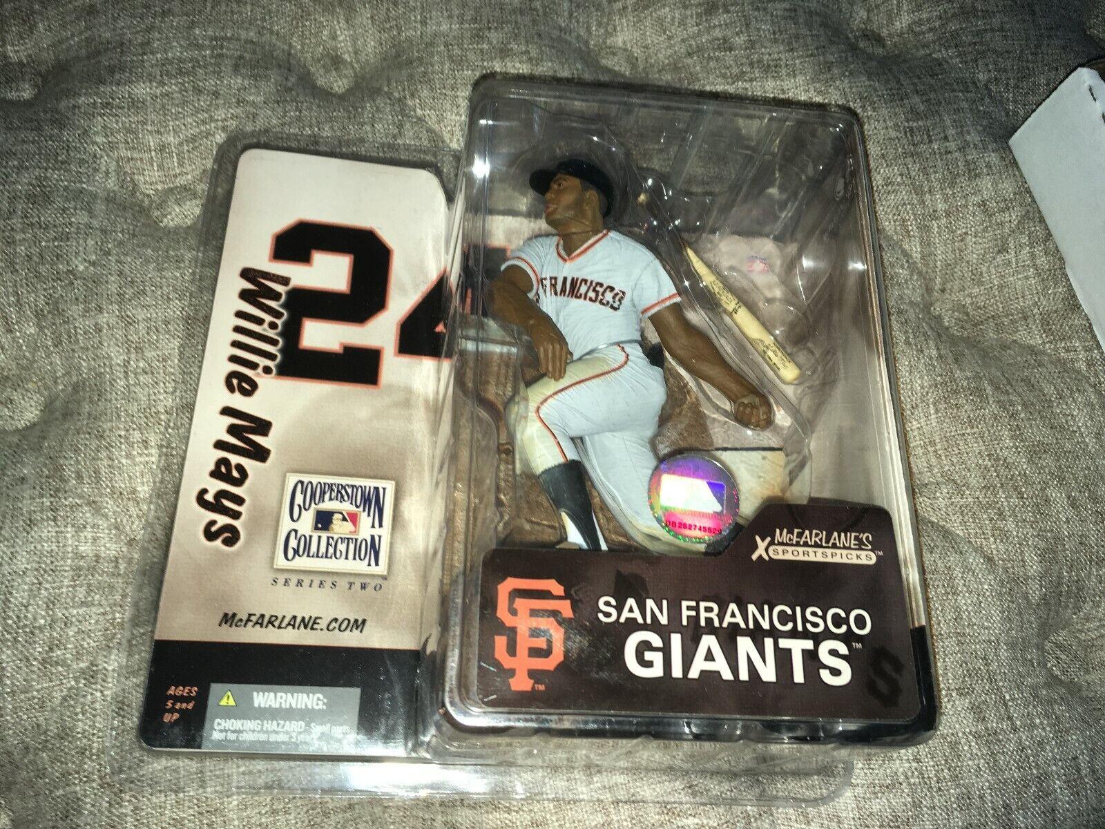 Willie Mays San Francisco Giants 2005 McFarlane Toys Baseball Figure MIP