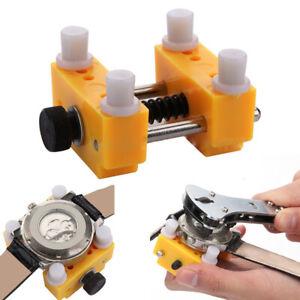 Outil-Etau-Pr-Reparation-Montre-Horloger-Opener-Ouvre-Boitier-Cadran-Fixateur