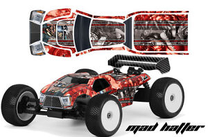 AMR-Proline-Bulldog-MBX6-T-Truck-Z01-T-RC-Graphic-ODonnell-Decal-Kit-1-8-Body-MH