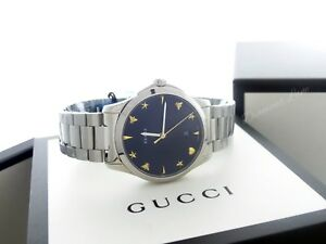 039b56aa3a2 Gucci Men s G-Timeless Stainless Steel Bracelet Swiss Quartz Watch ...
