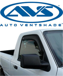 AVS 92083 In-Channel Window Ventvisors 2-Piece 93-11 Ford Ranger /& Mazda Pickup