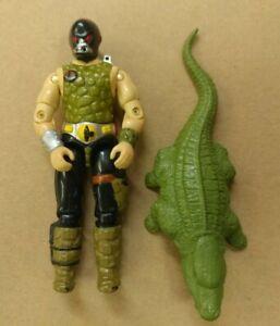Gi Joe Croc Master 1987 Whip Figure accessory