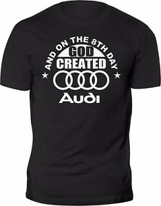 new t shirt audi funny quattro best car tee 100 cotton. Black Bedroom Furniture Sets. Home Design Ideas