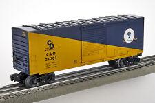 Lot 4081 Lionel Chessie System C & O, gedeckter Güterwagen (boxcar), Spur 0