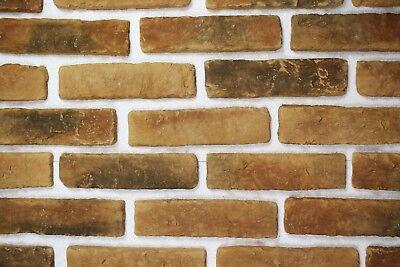 Baustoffe & Holz 10m² Klinker Riemchen Verblender Verblendstein Innen & Außen Neue Sorten Werden Nacheinander Vorgestellt