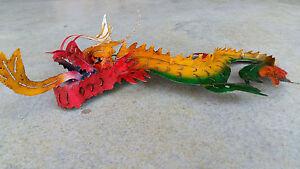 Bunter-Drachen-aus-Metall-Deko-Eisen-Tier-Blechfigur-Feng-Shui-Asia-Wandornament