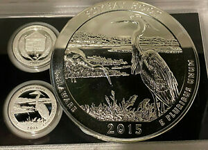 BEAUTIFUL-5oz-99-9-PURE-SILVER-2015-ATB-Bombay-Hook