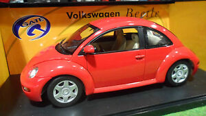 Volkswagen New Beetle Au 1/18 Gate 01037 Voiture Miniature Collection Coccinelle
