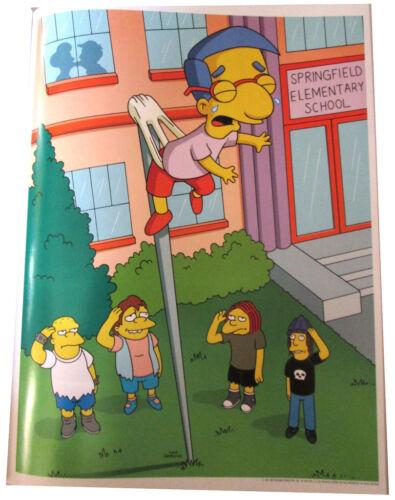 "SIMPSONS TV SHOW MINI POSTER 2007 14/""X10 1//2/"" BULLIES WITH MILHOUSE UP FLAGPOLE"