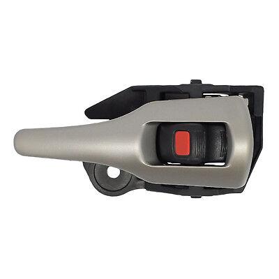 Right Passenger Front or Rear Black//Silver Inside Door Handle