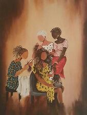 "African American Art Annie Lee""THREE ON ONE""Print Liquidation Sale!!"