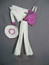 Vintage 1970 Mego Cher Outfit White Out Collection Bob Mackie