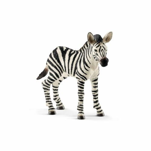 Schleich Wild Life Zebra Foal Animal Figure