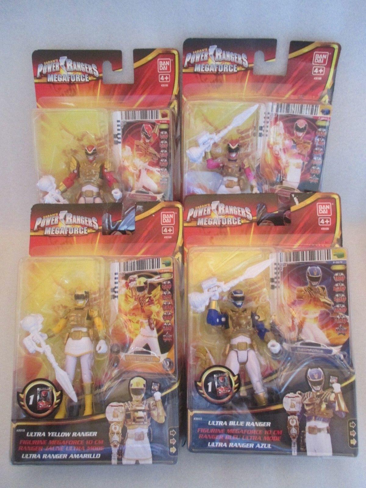 Yellow Ranger Tiger Zord HOT WHEELS DIECAST Power Rangers Megaforce