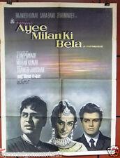 Ayee Milan Ki Bela {Rajendar Kuma} C Hindi Bollywood Original Movie Poster 1960s