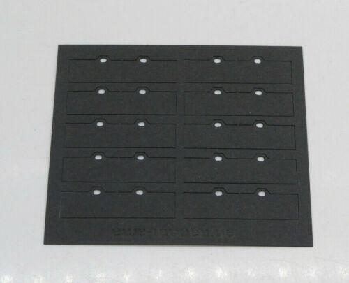 1:87 EM617 10x Heckschmutzlappen Spritzlappen schwarz für Herpa Umbau Eigenbau