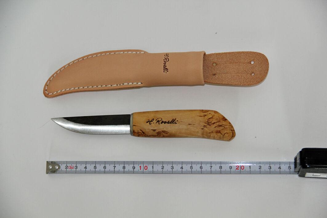 Roselli Messer Puukko Finnland - carpenter's knife - R110 Finnland Puukko NEU unbenutzt 24ba11