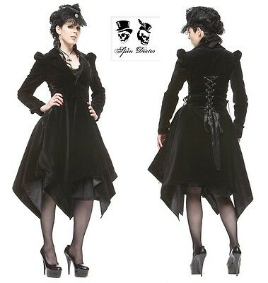 New Womens Spin Doctor Maven Dramatic Velvet Coat In Large Size  RRP£200