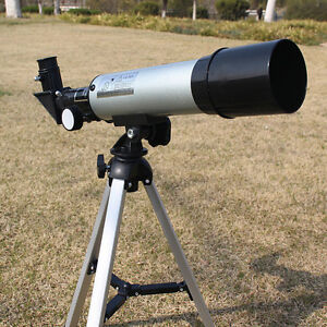 360-50mm-Refractive-Astronomical-Telescope-Tripod-Monocula-Space-Scope-Refractor