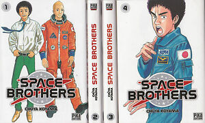 Livres Bd Revues Mangas Vf Space Brothers Tomes 1 A 4