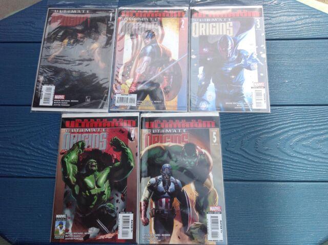 Marvel Ultimate Origins 1-5, 1 variant - good condition