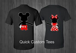 Mickey And Minnie Couples Shirts MICKEY AND MINNIE T-SH...