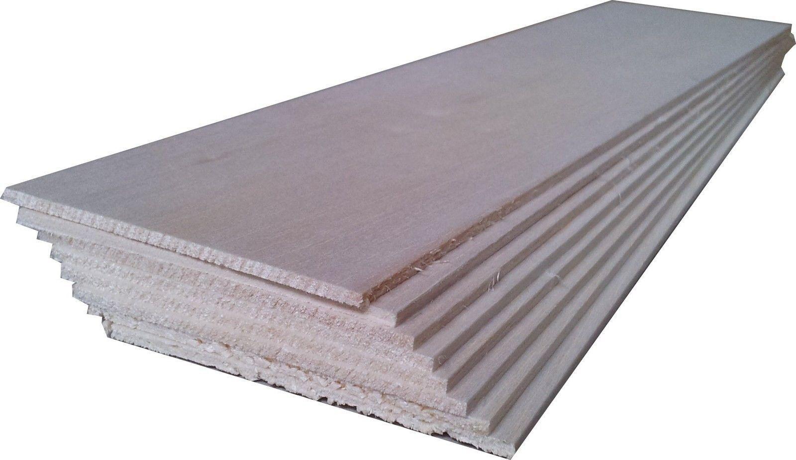 "BALSA WOOD 8 sheets 4/"" x 3/"" x 1//8/"" 100mm x 75mm x 3mm NEW RRP $16"