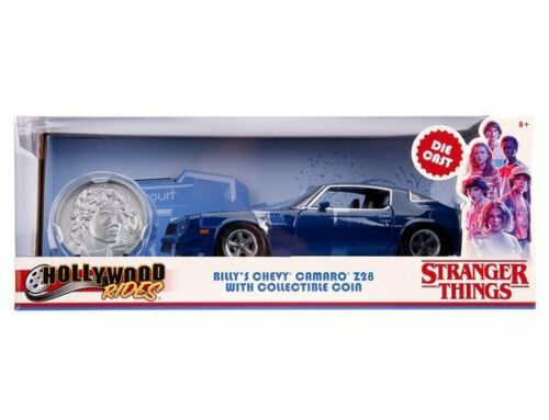 1979 Chevy Camero Z28 1:24 Hollywood Ride Details about  /Stranger Things